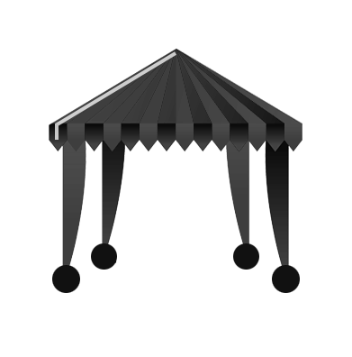 Marquee/gazebo icon